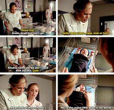 """Hello, baby Snart. Aww look at him!"" - Kendra and Sara #LegendsOfTomorrow ((OMG, he's so cute!!))"