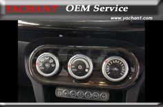 Carbon Fiber Air Control Panel Cover Fit For 2008-2012 Mitsubishi Lancer Evolution X EVO X EVO 10 RA HVAC Control Panel Cover #Affiliate