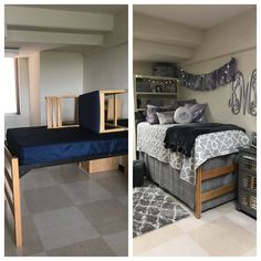 Before and After: MTSU dorm makeover