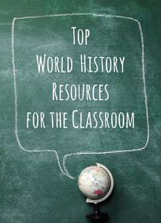 Whether you're looking to kick your lesson planning into high gear or just need a few extra fun factoids and anecdotes to cap off your world history curriculum this school year, TeacherPop has a few suggestions to make the history of the world even more interesting for your students. Check out these top world history resources to keep your students at the edge of their seats! SHEG's World History Lessons From Stanford History Education Group, these world history lessons are a great resource…
