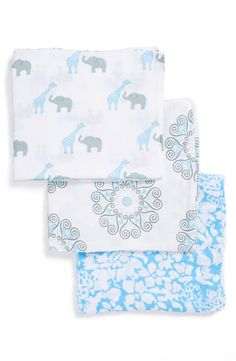 Swaddle Designs 'Swaddle Lite - Lush' Marquisette Blanket (Set of 3)