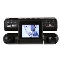 Newest 2.0 inch Dual Lens Car Dvrs Full HD 1080P Car Dvr Video Recorder Car Camera Dash Cam Support Microphone Night Vision Dvrs #Affiliate