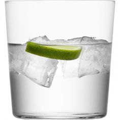 GIO tumbler.  Modern and fresh - this small, clear contemporary thin-walled tumbler offers great value and is ideal for parties as well as everyday occasions.