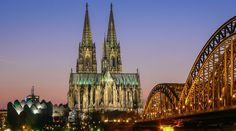 köln 2015 - Google keresés Cologne, Cathedral, Building, Travel, Viajes, Buildings, Trips, Traveling, Tourism