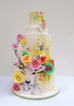 The best thing about hand-painted cakes? No two can ever be the same? These hand-painted cakes are certainly unique enough to inspire your next project!
