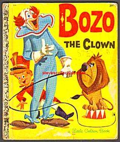 BOZO THE CLOWN - Little Golden Book