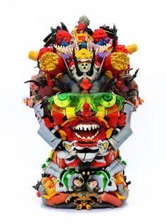 Toy Sculptures by Freya Jobbins
