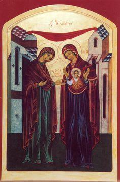 virgen visitacion icono ruso