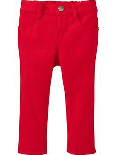Doesn't every girl need atleast one pair of Skinny Jeans?! Skinny Ponte Pants for Baby