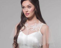Encubrir novia Cape capa nupcial nupcial novia por MarisolAparicio