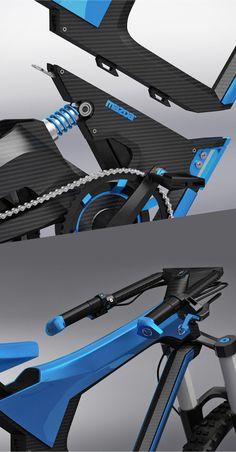 X-bike MAZDA. This project made for contest Mazda design 2012. From Karol Mizdrak's Portfolio