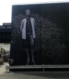 JR x Jose Parla New Mural In NYC, USA