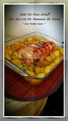 Je sais que la plupart des rôtis orloff sont fait avec de la viande de veau, mais j'avais un beau rôti de porc qui m'attendait dans mon réfrigérateur :-) …
