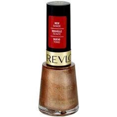 Revlon Metallic 932 Copper Penny Nail Enamel, 0.5 FL OZ Walmart.com ($5.97) ❤ liked on Polyvore featuring beauty products, nail care, nail polish, revlon, revlon nail color and revlon nail polish