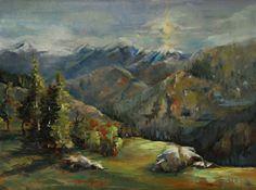 Sunrise by Alice Hauser Oil ~ 12 x 16