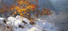 Makarov, Vitaly - On the Slope #design, #composition, #still life, #painting, #artwork