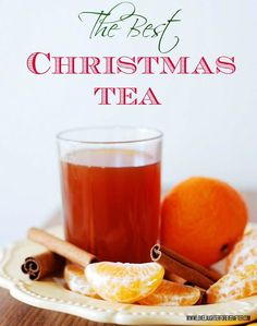 Christmas Tea by lovelaughterforeverafter #Tea #Christmas #Cinnamon #Cloves #Lemon #Orange #Pineapple