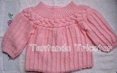 Tentando Tricotar: bebê