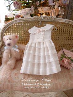 Litlle girl's dress plis religieuse Accessory for by AtelierdeLea