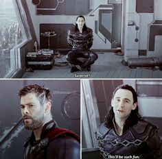 I totally could read Loki's lips in the gif before I watched the trailer. I knew he said that.