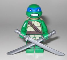 LEGO TMNT Minifigure Leonardo CMF Mini Figure 79104 Teenage Mutant Ninja Turtle