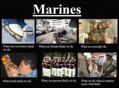 MARINES..What we do when it matters most. Ooh-Rah!!