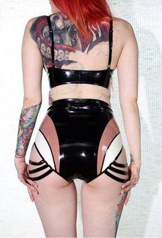 Aneta Latex Panty by VitalVeinFashion on Etsy, $115.00