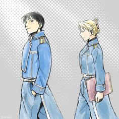 Roy Mustang is great and all but if he didn't have Riza he'd be wandering around in a state of perpetual confusion