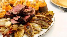 Rosbief met gevulde zoete aardappel, knolselder en mierikswortel | VTM Koken
