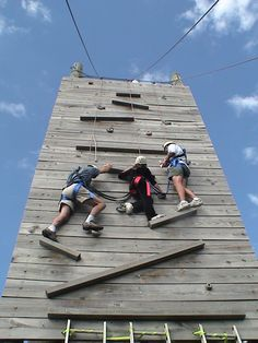 Ropes Course - Wall