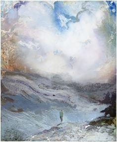 Tuomo Saali, Wolfborder, oil on canvas 2017, 70x 65cm