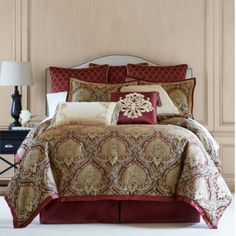 Royal Velvet® Jarvis 4-pc. Chenille Comforter Set & Accessories  found at @JCPenney