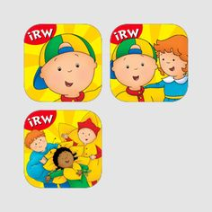 Caillou's eReading Bundle! Help your preschooler learn to read with this best-selling iRead With Caillou ebook bundle!