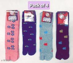 Socks Fancy Modern Women Socks Fabric: Wool Type: Regular Pattern: Solid Multipack: 4 Sizes: Free Size Country of Origin: India Sizes Available: Free Size   Catalog Rating: ★4.3 (1439)  Catalog Name: Fashionable Modern Women Socks CatalogID_2317939 C72-SC1086 Code: 691-12128780-483
