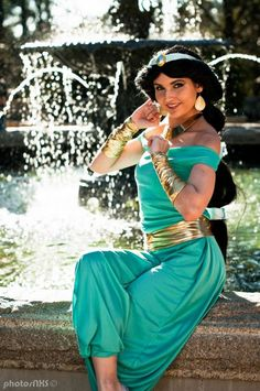 disney princess real life   Real Life Disney Princesses: Jasmine