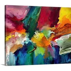 Found it at AllModern - To Life by Jonas Gerard Graphic Art on Canvas