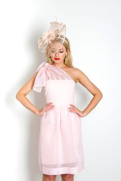 THE FLORENCE DRESS IN LIGHT PINK
