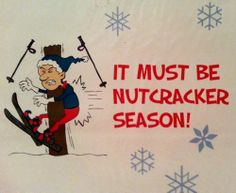 "NUTCRACKER GIFT WRAPPING PAPER Funny Joke Gag Christmas Ski Cute White Blue Red ★ 15% OR MORE OFF MOST ITEMS! Most have FREE US SHIPPING & a ""Make Offer"" option! Over 500+ unique gifts, rare vinyl records including part of Pro Skateboarder BILL DANFORTH's personal punk vinyl collection, cool/pretty purses includes LUX DE VILLE, Sunglasses Made by Skaters using Recycled Skateboard Decks, shoes, boots, creepers, clothes, collectibles & more…"