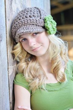 diy crochet hat
