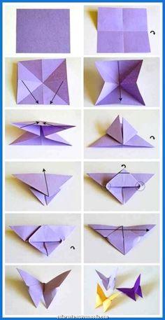 origami butterflies how to make a paper butterfly easy origami . - - origami butterflies how to make a paper butterfly easy origami … 2019 Origami-Schmetterlinge wie man einen Papierschmetterling einfach macht Origami … Origami Design, Instruções Origami, Paper Crafts Origami, Paper Crafting, Paper Folding Crafts, Origami Ideas, Origami Folding, Paper Oragami, Origami Wall Art
