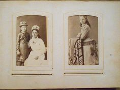 Victorian Era Photographs and Album by Violetsandwine, $95.00 USD #zibbet
