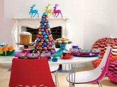 Inspiração: Natal em cores flúor neon!!