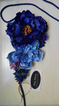 Cinturon de flores cinturones de flores invitada invitadas invitada perfecta Miss Daisy