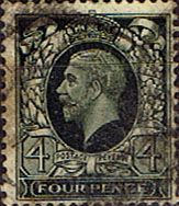 Great Britain 1934 King George V Head SG 445 Fine Used Scott 216 Other British Commonwealth Stamps HERE!