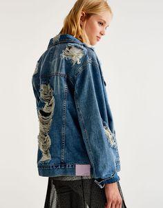 Denim jacket #pull&bear