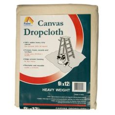$22.54Paint Essentials 9-Feet x 12-Feet Canvas Drop Cloth HW912 LittleGreenNotebook uses these