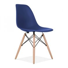 Charles Eames Style Royal Blue DSW Chair