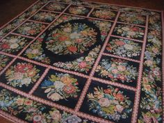 OnlineGalleries.com - English Needlework Carpet ( 328 )