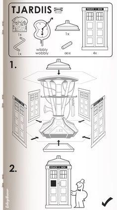 Monter un meuble IKEA est devenue une activité trop courante. Et si les grandes créations des films de science fiction possédaient leur manuel respectif, quel en serait-il ? Le résultat est plutôt …