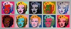 10 Marilyns - Warhol